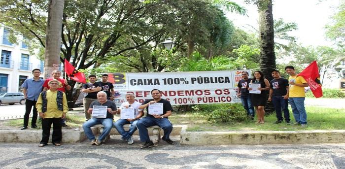 SINTECT-MA participa de ato unificado contra a reforma da previdência e privatização em São Luís