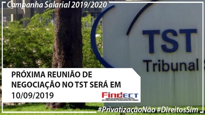TST DIVULGA DESPACHO E CONVOCA FEDERAÇÕES PARA REUNIÃO BILATERAL