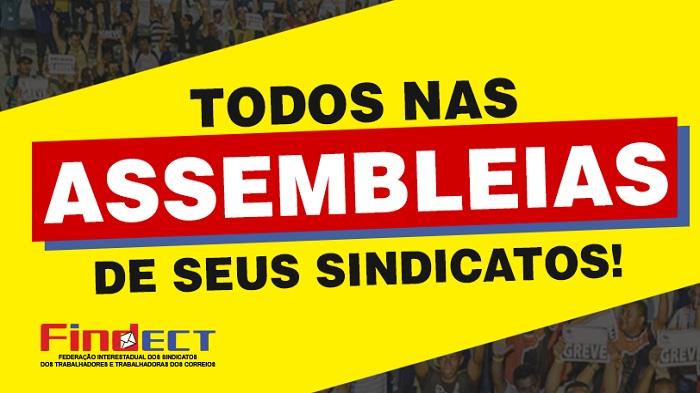 GOVERNO E ECT NÃO DEIXARAM ALTERNATIVA A NÃO SER A LUTA!