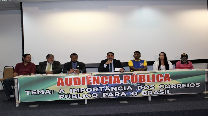 SINTECT-MA REALIZA AUDIÊNCIA PÚBLICA NA ASSEMBLEIA LEGISLATIVA E DISCUTE PRIVATIZAÇÃO DOS CORREIOS