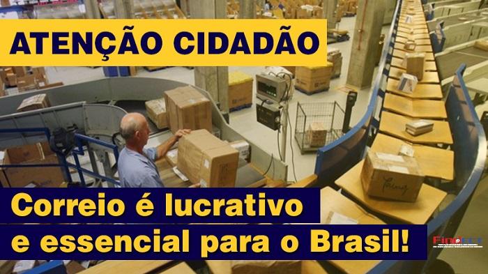CORREIO DÁ LUCRO, MAS VOU PRIVATIZAR, DIZ BOLSONARO
