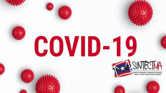 SINTECT MA ESTÁ ATENTO AO AUMENTO DE CASOS DE COVID19