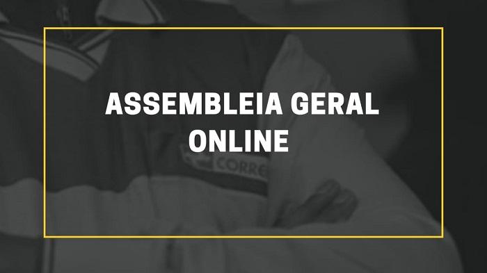 TRABALHADORES DOS CORREIOS DO MARANHÃO PARTICIPAM DE ASSEMBLEIA ONLINE NESTA SEXTA (04/09)