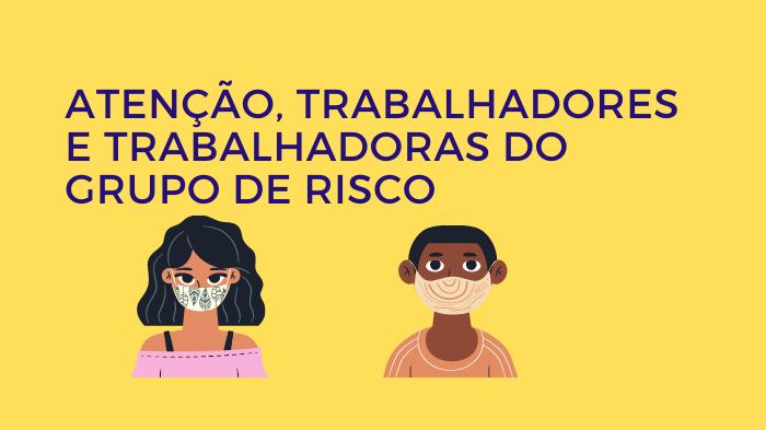 SINTECT-MA DÁ ESCLARECIMENTOS A TRABALHADORES EM TRABALHO REMOTO E DOS GRUPOS DE RISCO