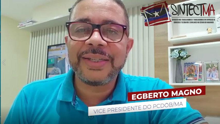 VICE PRESIDENTE DO PC DO B MA CONVOCA ECETISTAS PARA MOBILIZAÇÃO JUNTO AOS POLÍTICOS CONTRA A PRIVATIZAÇÃO