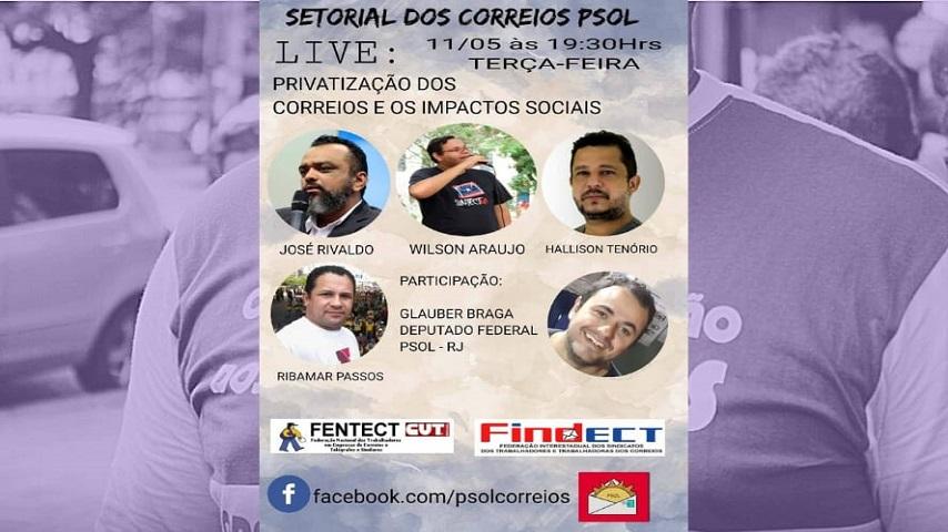 LIVE: FINDECT E FENTECT JUNTOS NA LUTA