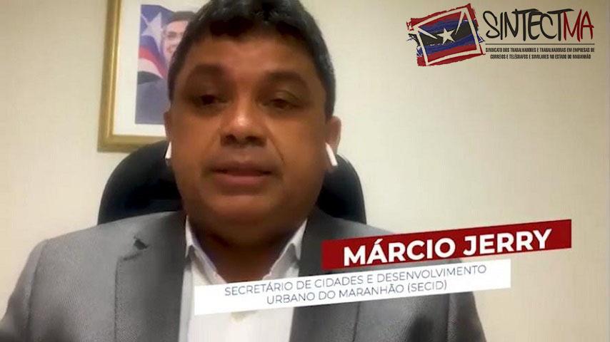 SECRETÁRIO DAS CIDADE DO GOVERNO DO MARANHÃO CONVOCA TRABALHADORES PARA A LUTA EM DEFESA DOS CORREIOS