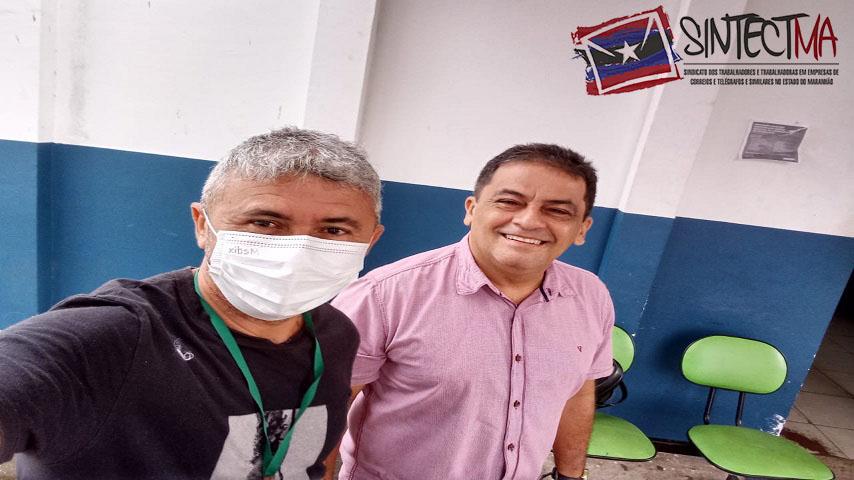 SINTECT-MA VISITA SECRETARIA DE SAÚDE DE IMPERATRIZ E COBRA VACINAÇÃO PARA OS TRABALHADORES